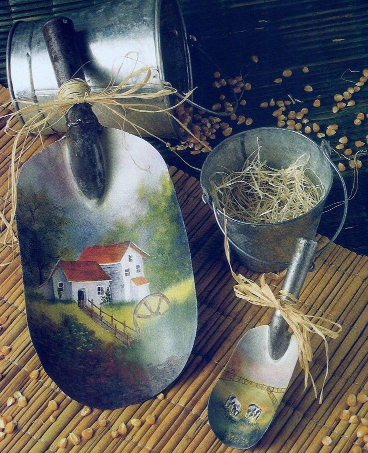 palas de azúcar o Harina decoradas