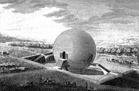 Claude-Nicolas Ledoux, Progetto per una casa delle guardie campestri, 1790 circa, Parigi, Bibliothèque Nationale