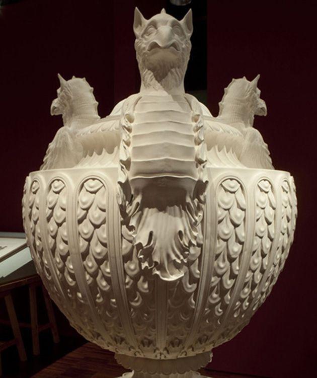 Vaso antico di marmo presso il Signor Dalton. GB Piranesi, 1778