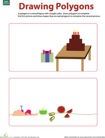 9 best geometry worksheets images on pinterest geometry worksheets drawing polygons fandeluxe Choice Image
