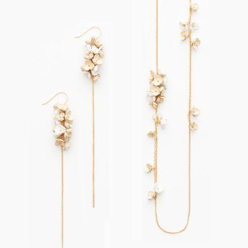 flower designed jewelry by Selieu