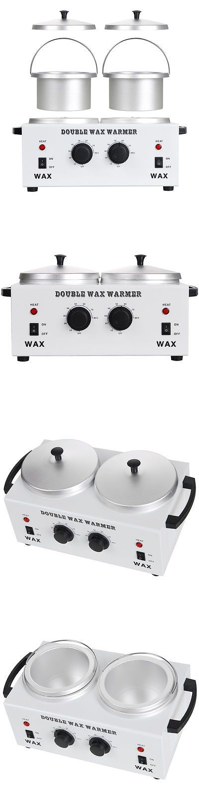 Waxing Supplies: Pro Double Wax Warmer Electric Heater Dual Hot Facial Skin Care Equipment Spa -> BUY IT NOW ONLY: $35.9 on eBay!