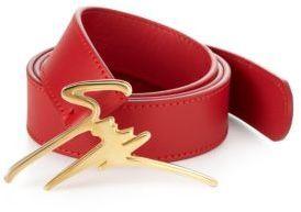 Giuseppe Zanotti Signature Logo Belt