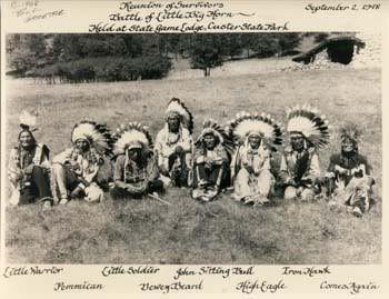 Battle of the Little Bighorn chiefs                                                                                                                                                                                 More