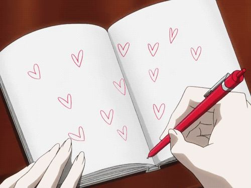 anime hearts gif - Google Search