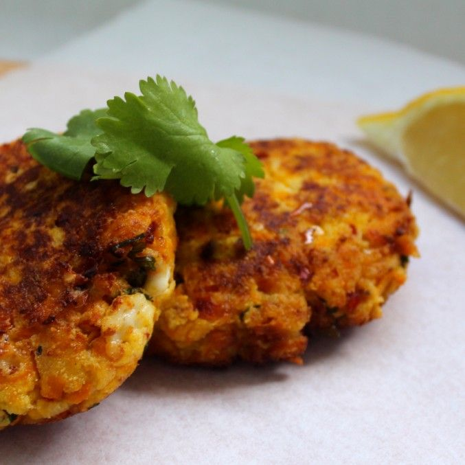 Pumpkin & Feta Fritters - the perfect breakfast alternative to bread – nutrient dense, all natural and preservative free. They are even nut free, so perfectly lunchbox and allergy friendly. Serve with poached egg & avocado mash.