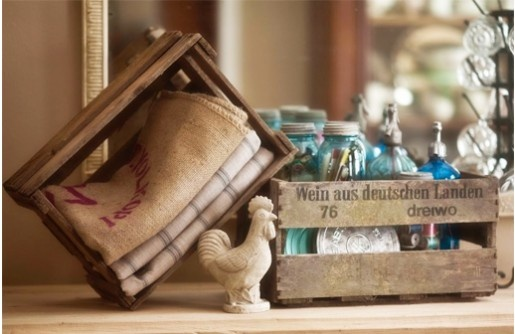 {FOUND Objects} German Wine Crate - Decor Steals~Enjoy Today's Steal from DECOR STEALS