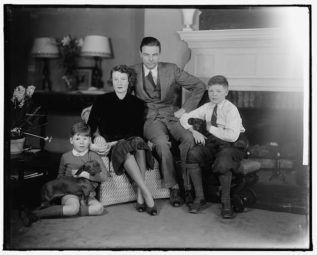 Henry Cabot Lodge and family