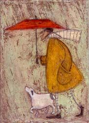 """""""Doing the Stay-Dry Quickstep"""" - Sam Toft"""
