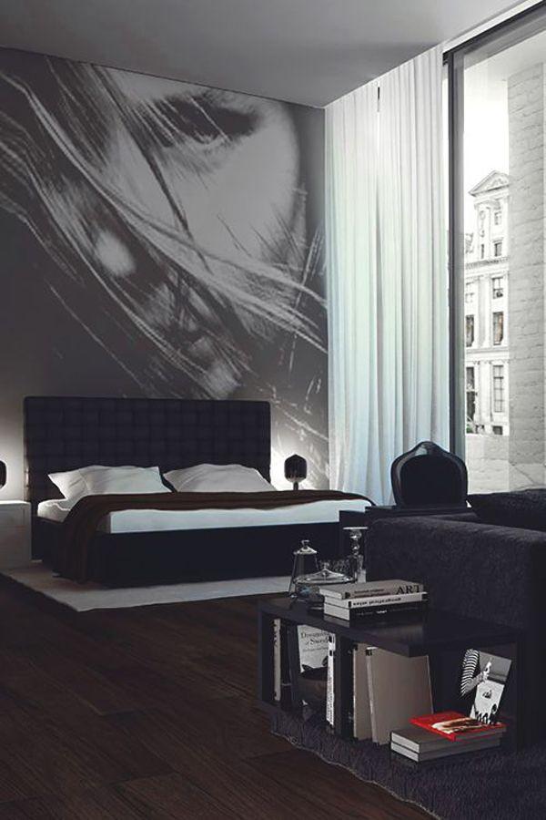 Masculine Bachelor Bedroom Ideas