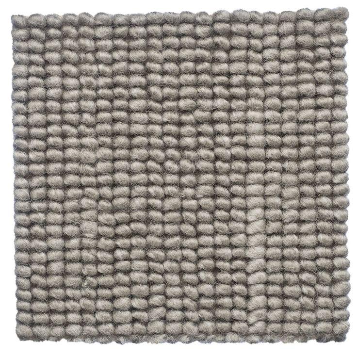 Tussore Chunky Loop Pile 100% Pure New Zealand Wool Carpet - Cavalier Bremworth
