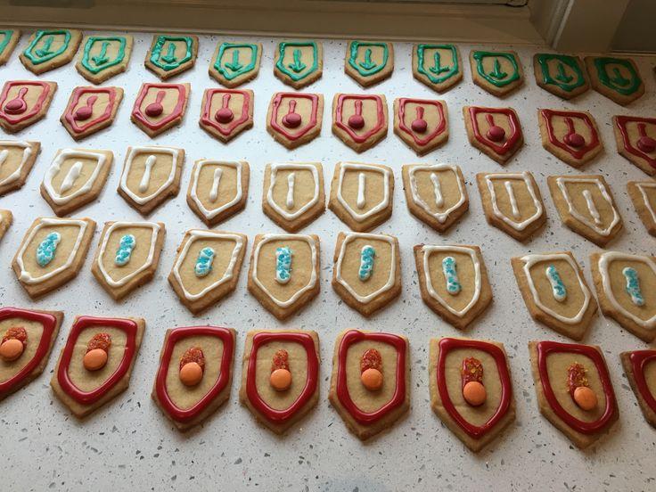 Nexo Power Shields - vanilla cookies