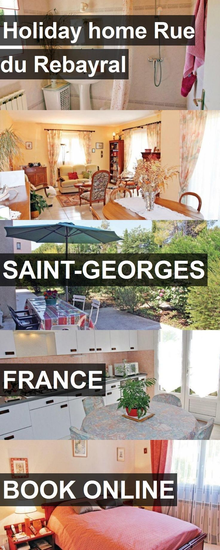 Hotel Holiday home Rue du Rebayral in Saint-Georges, France. For more information, photos, reviews and best prices please follow the link. #France #Saint-Georges #hotel #travel #vacation