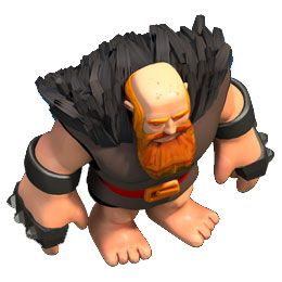 Clash of Clans level 6 giant