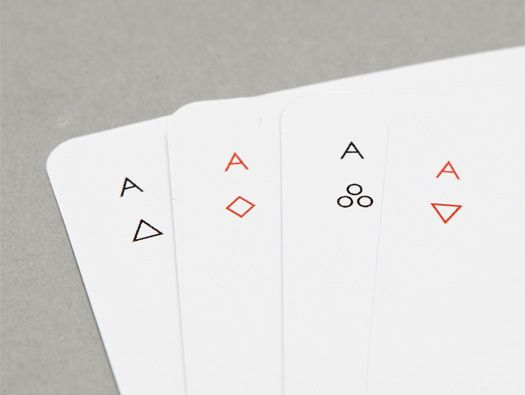 Iota Playing Cards by Joe Doucet