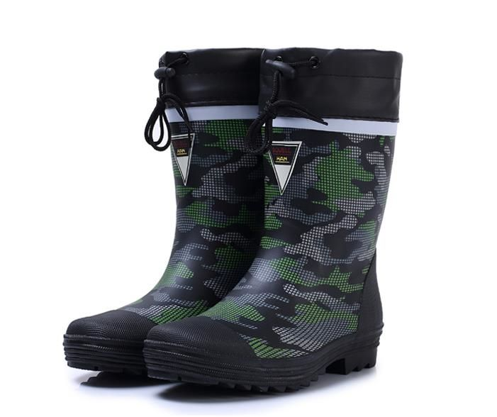 57.00$  Watch now - Men's camouflage rubber rain boots fashion fishing hunting waterproof boots for man  #buychinaproducts