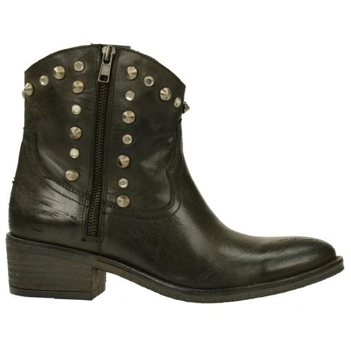 SACHA // Zwarte cowboylaarzen met studs  €129,95