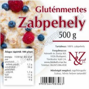 N&Z Gluténmentes Zabpehely 500 g
