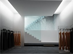 0b93cc34ff Clean and minimal, the Luisa Via Roma concept store in Florence, Italy _