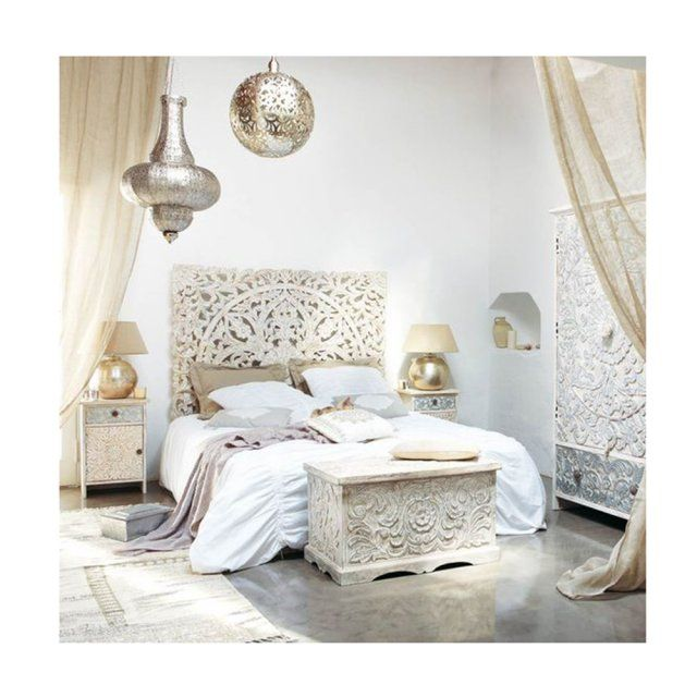 chambre coucher style oriental