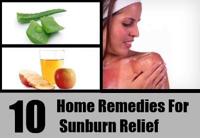 Natural Cure For Sunburn | Health  Natural Living