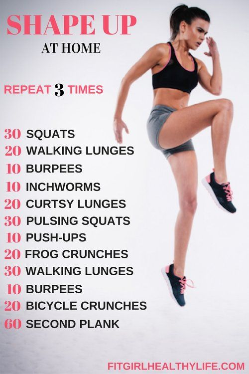 How To Get In Shape Fast At Home