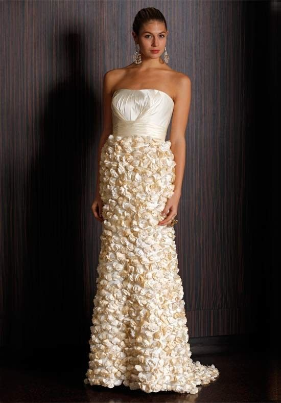 A-Line Strapless Charmeuse Crepe Sweep wedding Dress Style Buttercup $380.99 #strapless #style #bridal #buttercup #dress #wedding #sweep #charmeuse #bridalgown #mywedding #weddingdress #aline #crepe