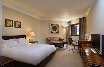 Bedroom at the Hilton East Midlands Airport - Nottingham - UK