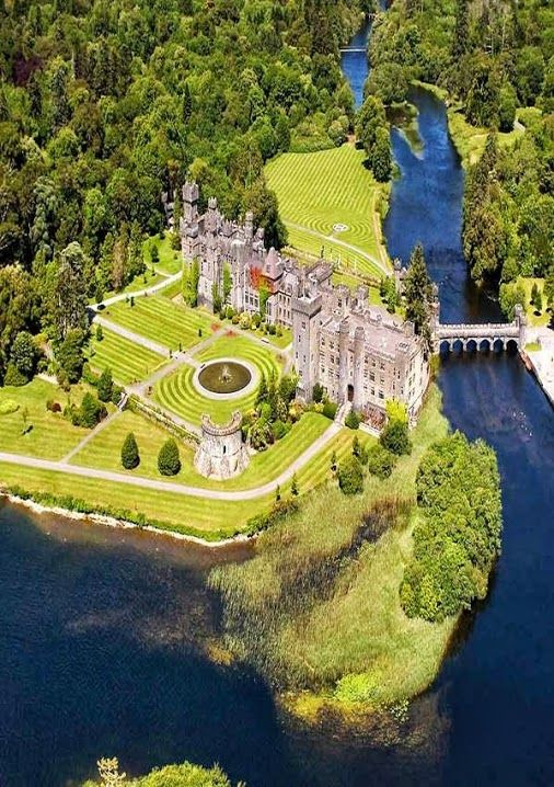 Ashford Castle, Cong, Ireland - I will stay a night in this castle/hotel one day!