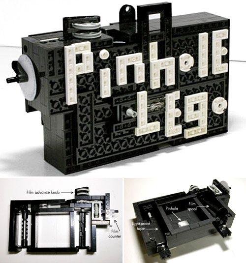 Pinhole Lego Camera | Little Coloured Bricks  holgadget.com