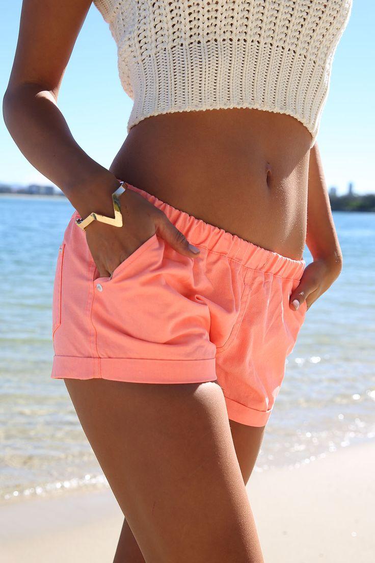 Pastel Neon Shorts | SABO SKIRT