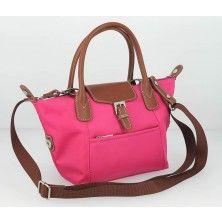 Fuschia Shopping Bag by HEXAGONA face