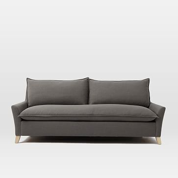 Tufted Sofa Bliss Queen Sleeper Sofa westelm Overall product dimensions w x