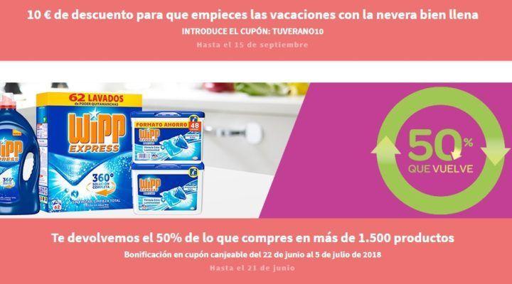051c2636c0e Acaba mañana! 50% de reembolso en 1500 productos de supermercado en ...