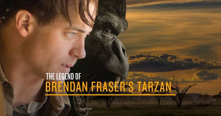 As the latest incarnation of Tarzan hits our screens, let's not forget that Brendan Fraser will forever be the true king of the jungle.