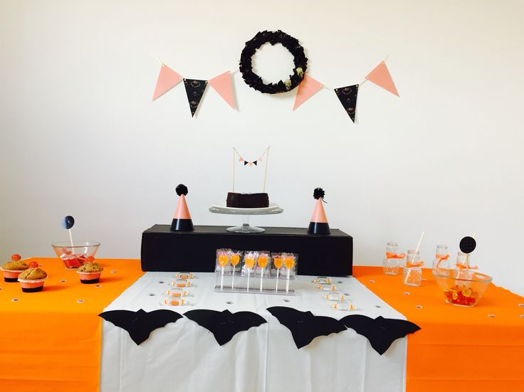 Halloween sweet table / mesa dulce halloween