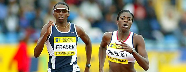 Female athletes on the ball...  With a background in the sport, Christine Ohuruogu could lead a netball dream team of track and field stars, but who would make the squad?
