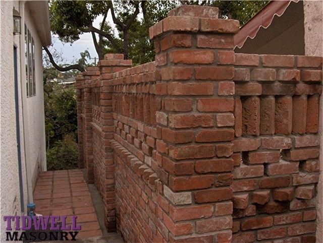 San Diego Masonry Contractors Brick Walls 1
