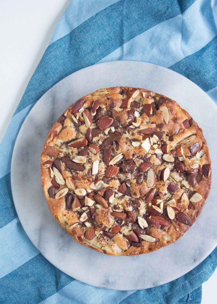 Pærekage med chokolade og marcipan - Pilens KøkkenPilens Køkken