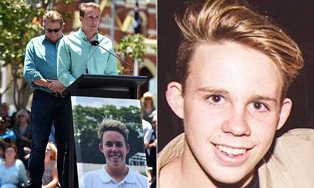 How one-punch victim Cole Miller's organs have given new life - his lungs have been given to ensure that another boy and a girl can breathe
