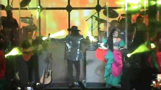 Vídeo concierto en Movistar Arena Santiago de Chile