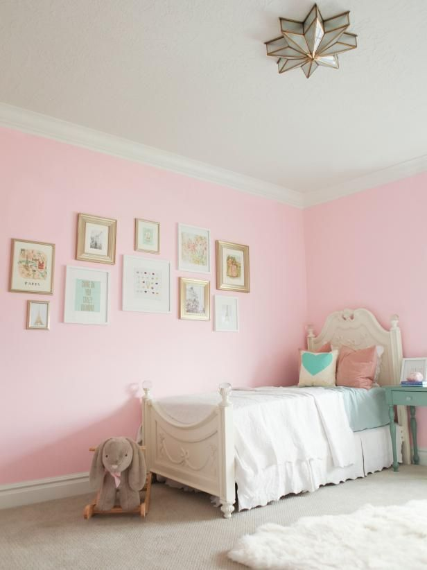 The Paint Angelic Sherwin Williams How You Can Use It This Baby Pink Reminds Me Of The Clouds Yo Girls Room Paint Girls Room Wall Color Pink Girls Room Paint