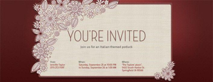 The Story Of Wedding Invitation Templates Generator Has E Card