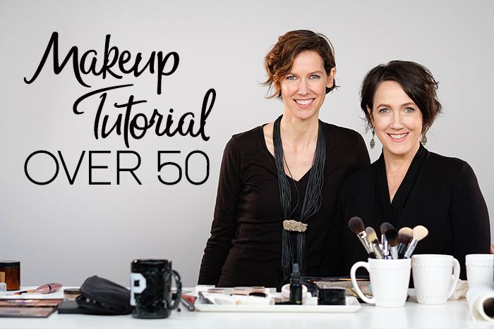 An over 50 makeup tutorial with secrets from a top green makeup artist on how to revive that youthful look using natural makeup.
