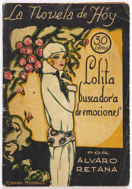 How I love old Spanish book covers.