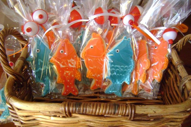 fish fry party decorations | Fish Cookies | Party Ideas