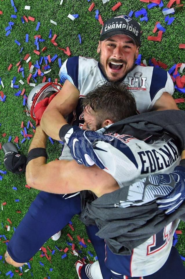 Danny Amendola and Julian Edelman. Super Bowl51 Champs. 02/05/17