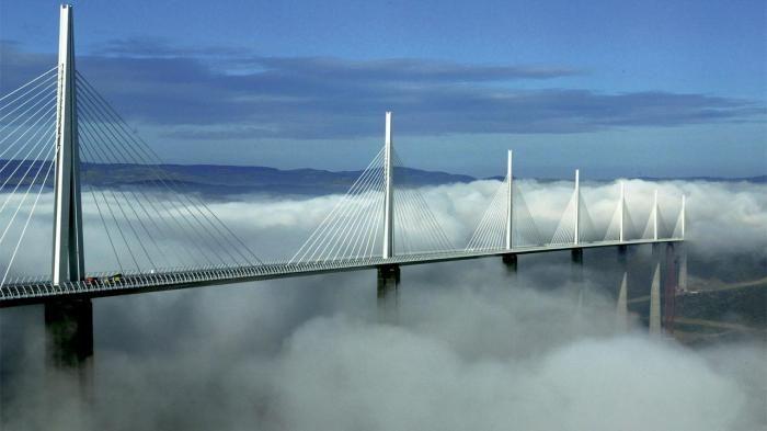 Millau Viaduct - Jembatan di Atas Awan Ini Dinobatkan Tertinggi di Dunia, 3…
