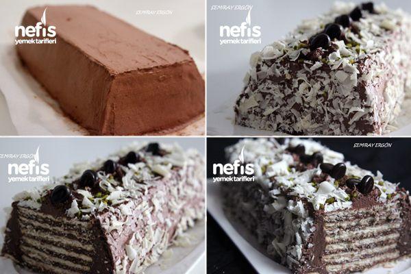 Çikolatalı Bisküvi Pastası 2