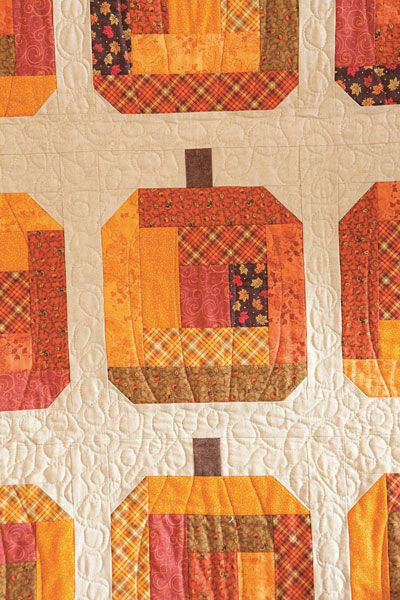 Additional Images of Gourd-eous Wall Hanging Kit by Kristin Gassaway - ConnectingThreads.com